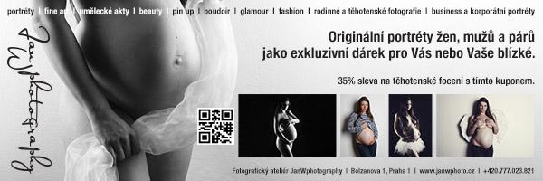 JanWphotography těhotenské focení