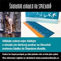 Švandovo divadlo dárkový poukaz