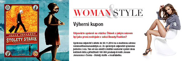 Womanandstyle výherní kupon