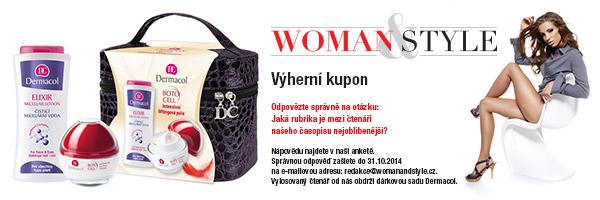 Výherní kupon WOMAN&STYLE