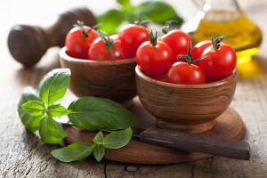 bigstock-cherry-tomatoes-and-basil-45687757