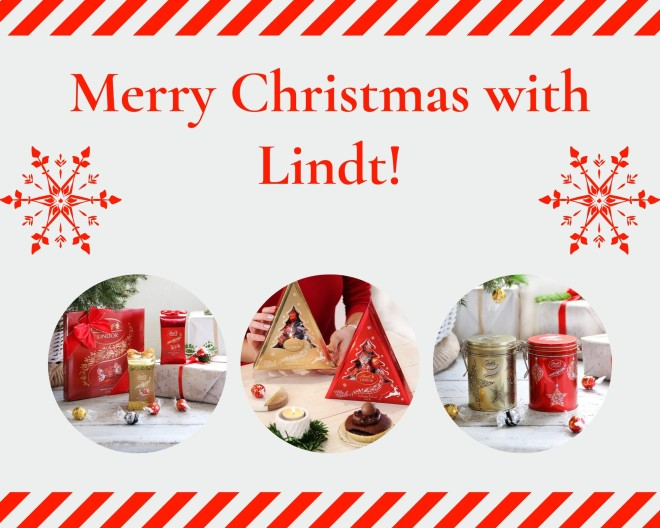 Merry Christmas with Lindt!