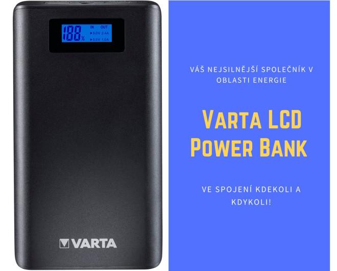Varta LCD Power Bank 13 000 mAh