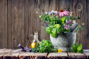Homeopathy and Alternative Medicine With Healing Herbs