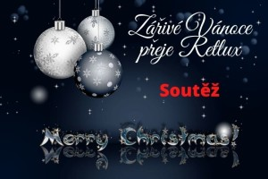 Zářivé Vánoce přeje Retlux