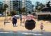Addamsova rodina na pláži - foto z filmu